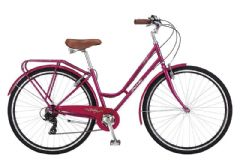 Probike Vintage Purple 7SPD - 700C Ladies Heritage Bike
